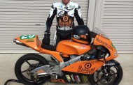Ted Collins speaks after Moto 3 opener