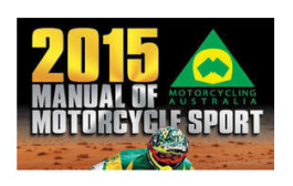 2015 Manual of Motorcycle Sport