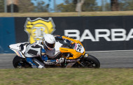 Daniel Falzon speaks after Superpole at Barbagallo