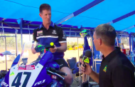 Reaction time training with Yamaha Racing Team's Wayne Maxwell