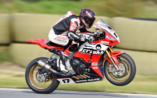 Crankt Protein Honda Racing Team taking positives away from Round 4 of ASBK