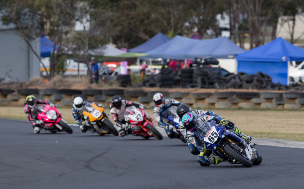 Park the bike and jump on the couch ASBK is on TV!