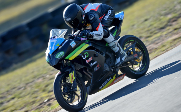 Cube Racing's Toparis claims Production Victory in Queensland