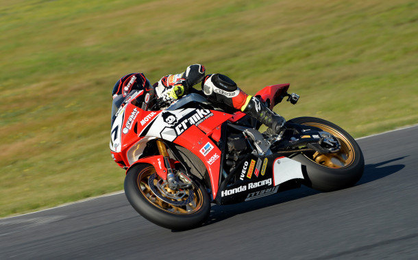 Herfoss increases his speed and confidence at Winton