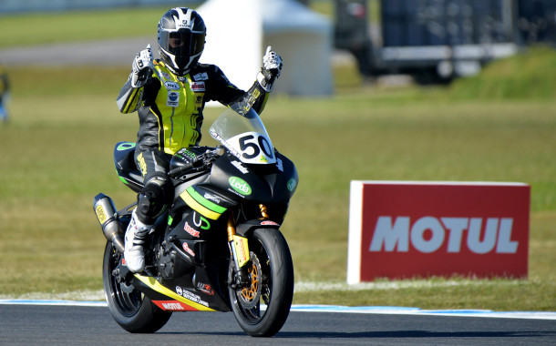 Cube Racing's Spriggs clinches Phillip Island Supersport crown