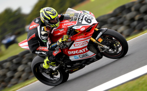 Halliday sixth on Friday in DesmoSport Ducati debut at Phillip Island