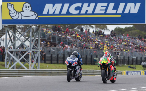 Jones gets his first Moto GP Championship point, while Barton secures 20th
